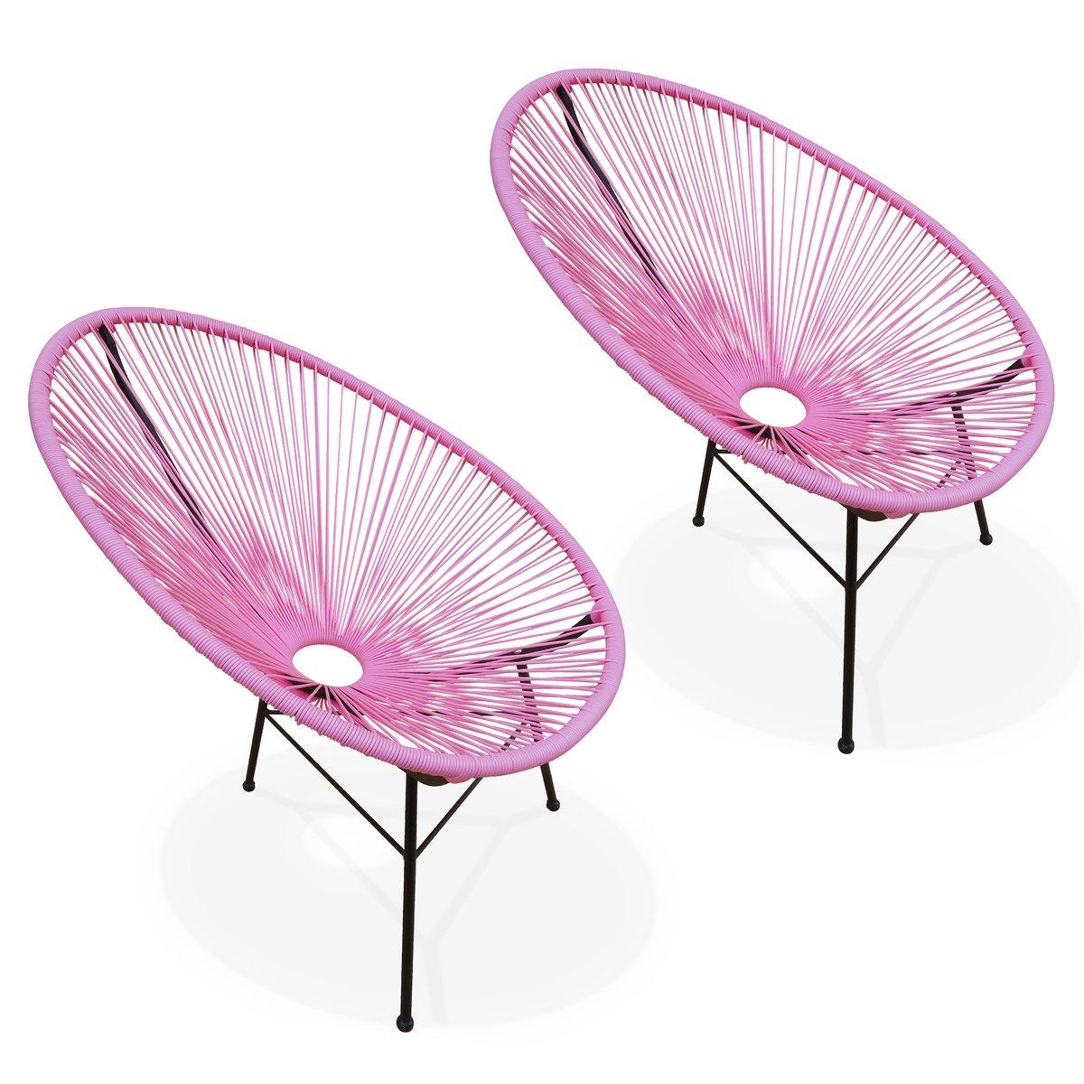 Alices Garden-2 sillones, diseño de huevo-été Acapulco ...