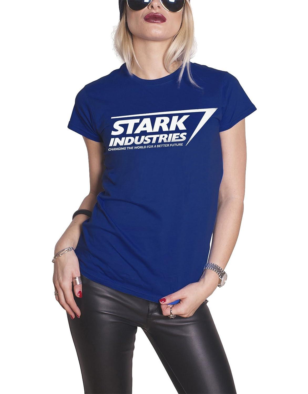The Stark Industries Logo Blue 1264 Shirts