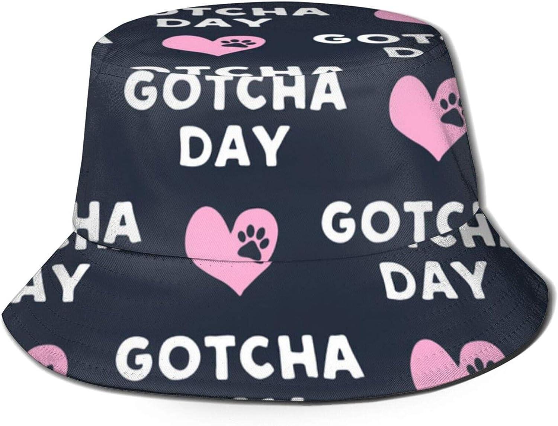 Gotcha Day - Paw & Heart - Blu Scuro & Rosa Cappelli da ...