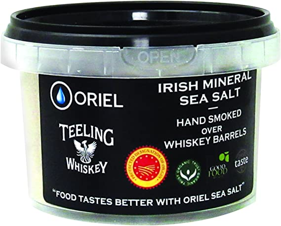 Oriel Teeling Whiskey Irish Mineral Smoked Sea Salt