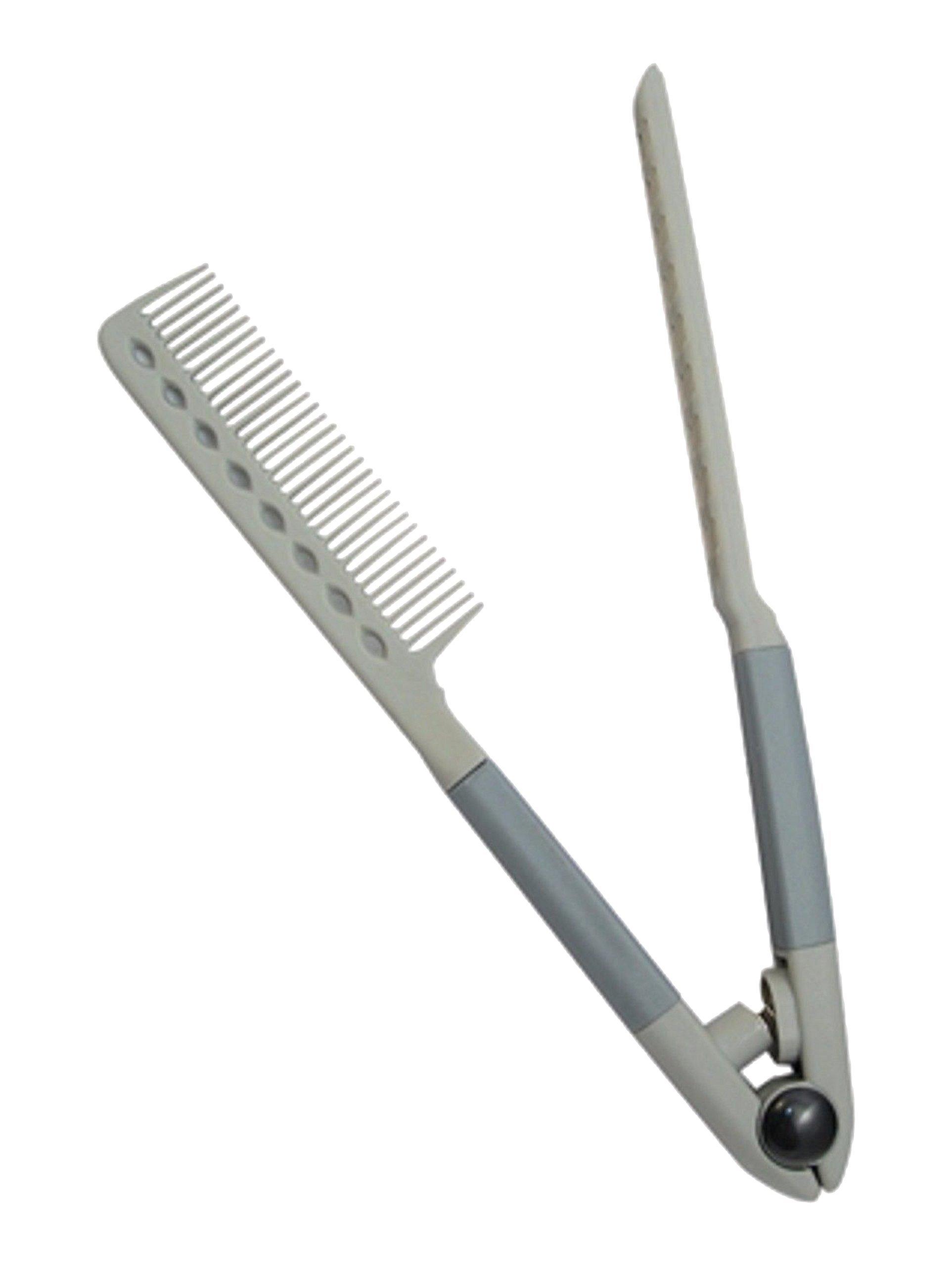 Premium Life Spring Grip Straightening Comb