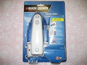 Black & Decker X50 Travel Pro Iron, White