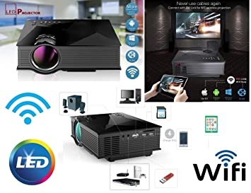 Proyector LED Wifi Android LCD videoproiettore3d 1080P HD ...