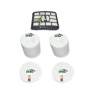 ZVac Shark Vacuum Hepa Filter Replacement Xhf500 & Xff500 for Shark Rotator Professional Lift Away Nv500, Nv501, Nv502, Nv503, Nv505, Nv510, Nv520, Nv550, Nv552, Uv560