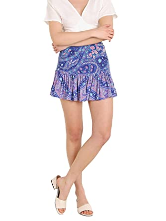 7e4a58140 Image Unavailable. Image not available for. Color: Spell & The Gypsy City  Lights Mini Skirt Indigo