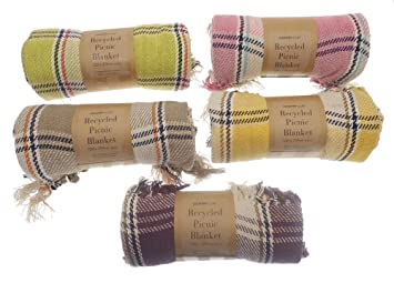 Recycled Cotton Picnic Blanket