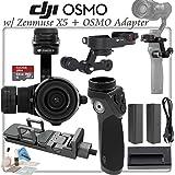 DJI Zenmuse X5 with 15mm f/1.7 Lens & X5 OSMO Adapter & OSMO Handle Bundle