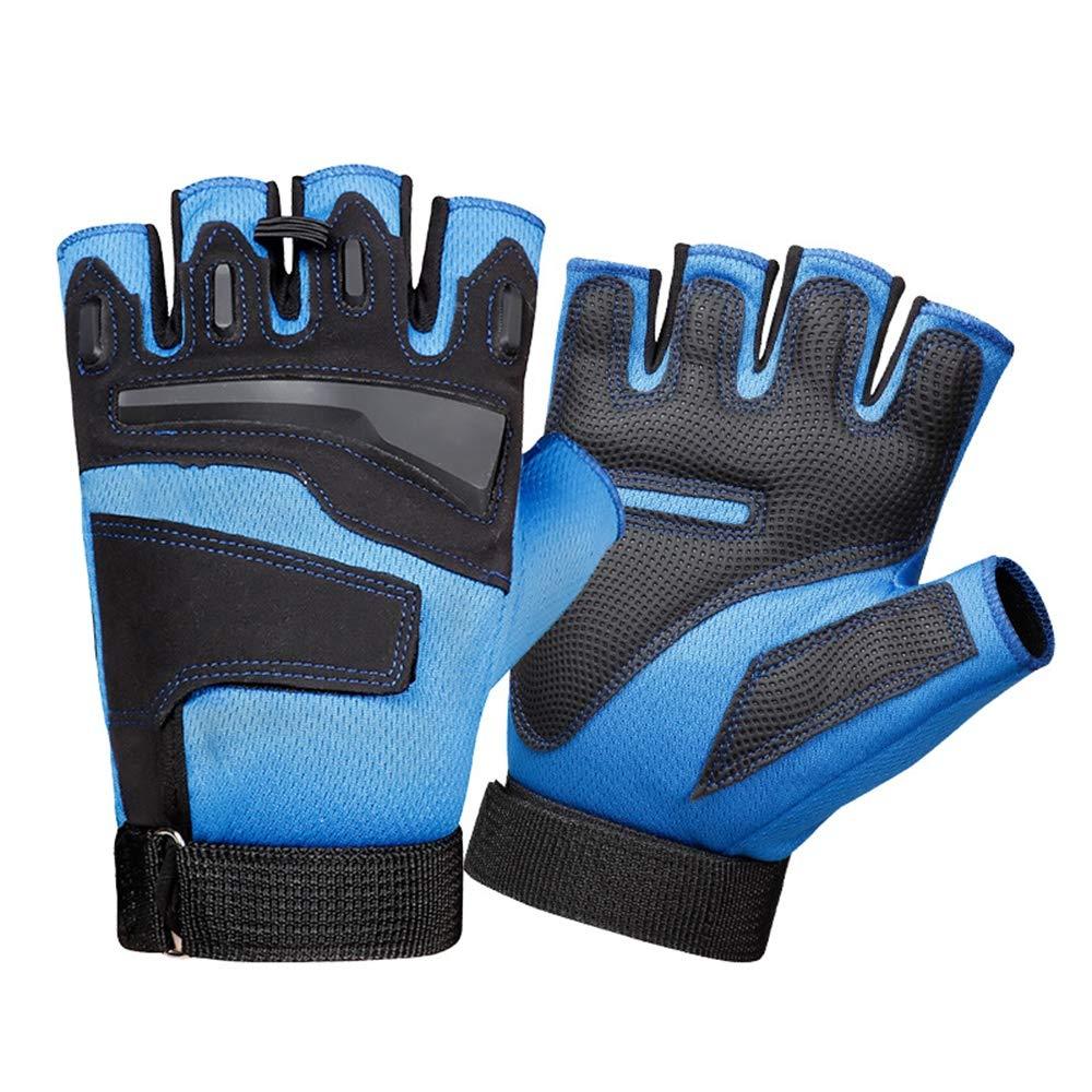 Lyq&st Sport-Handschuhe Der Männer Halber Finger Gloves Atmungsaktiv Windabweisend Ski-Handschuhe, Outdoor Wear Klettern & Fitness & Einen.Kreislauf.durchmachenhandschuh