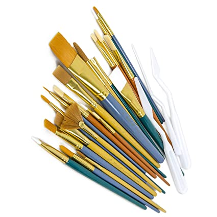 Artfuy Paint Brushes Diy Painting And Waxing Tool Natural