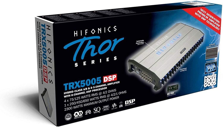 HIFONICS THOR TRX-5005DSP 5-Kanal