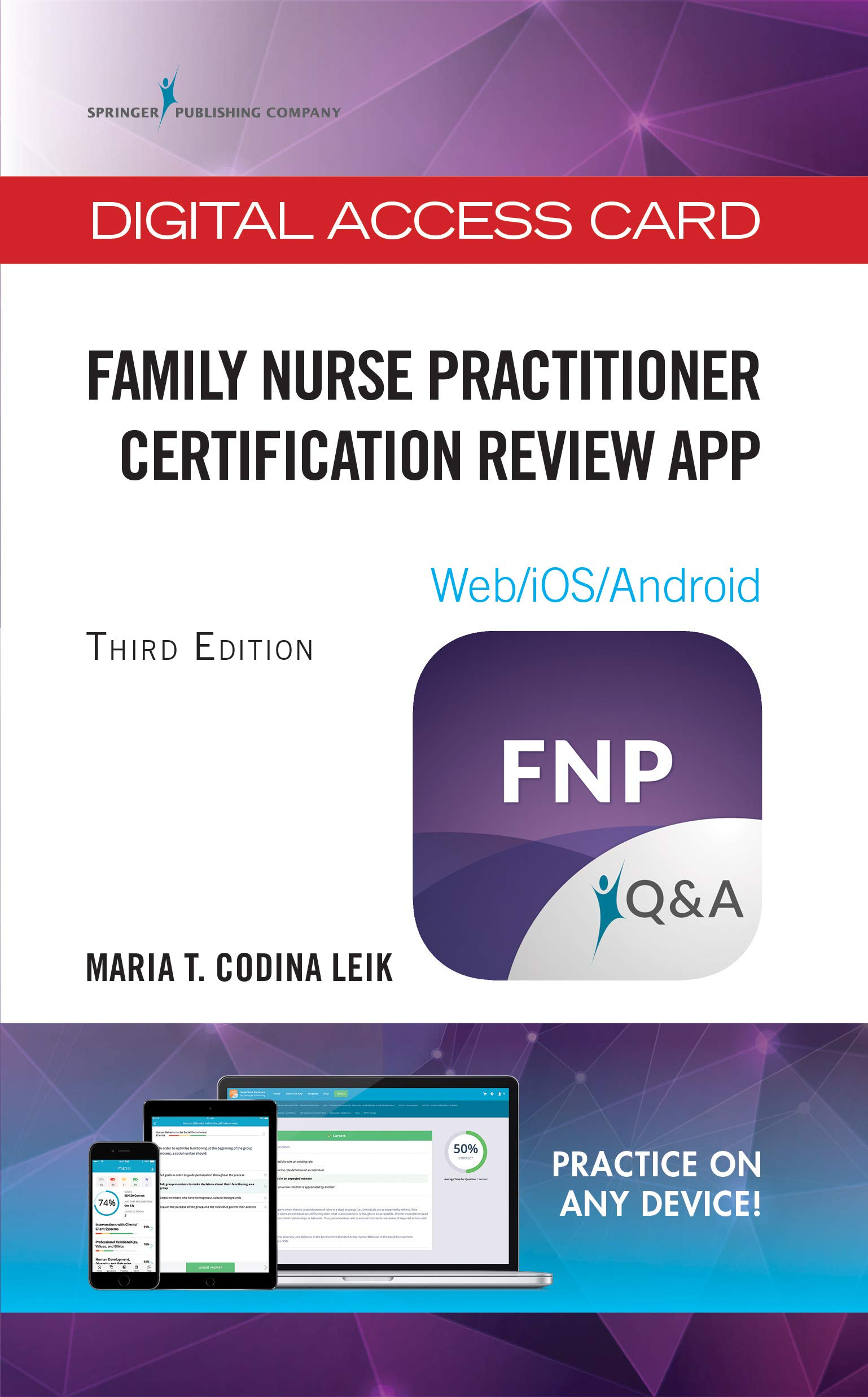 Family Nurse Practitioner Certification Review App - Digital