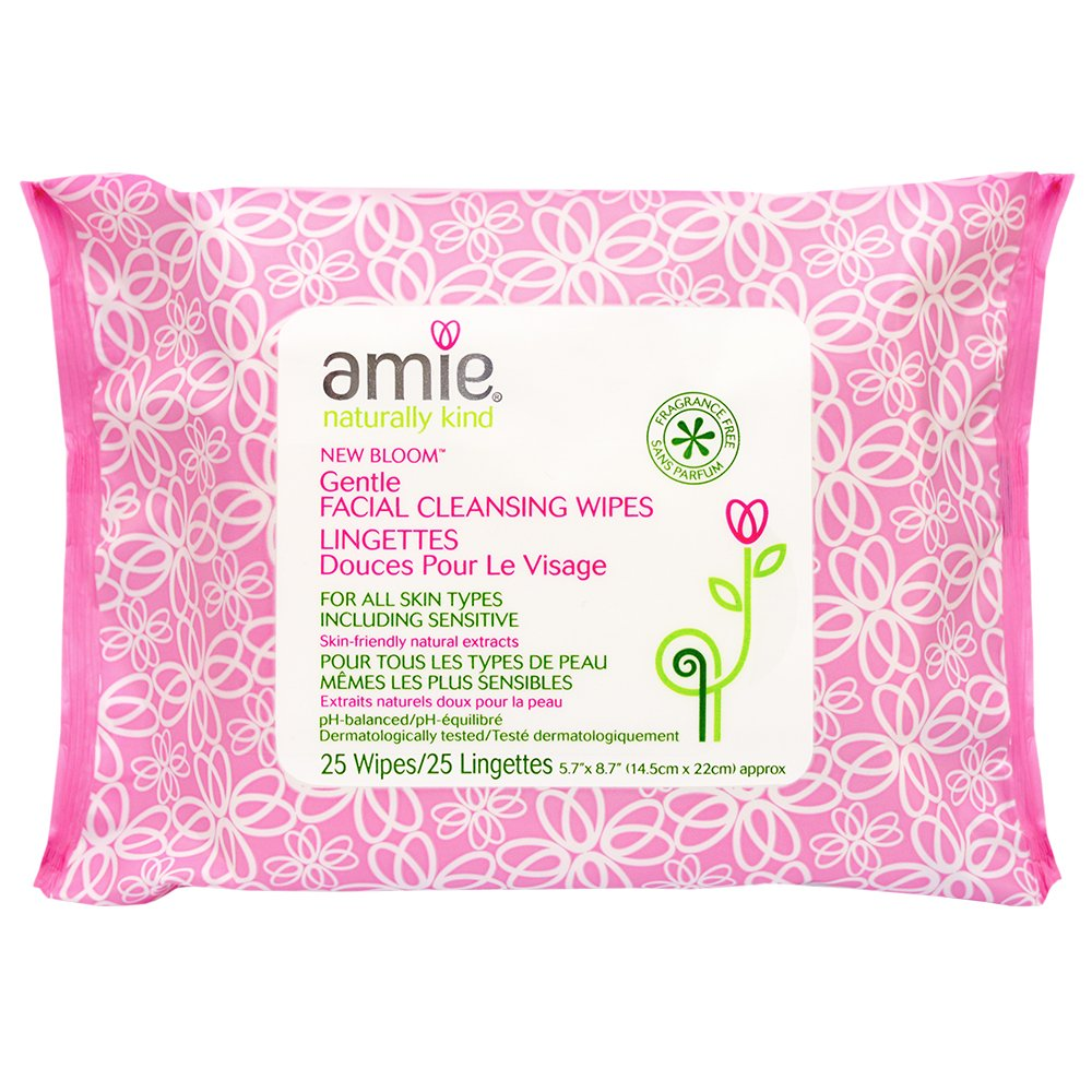 Amie New Bloom Cleansing Wipes - Pack of 25 AM2500C