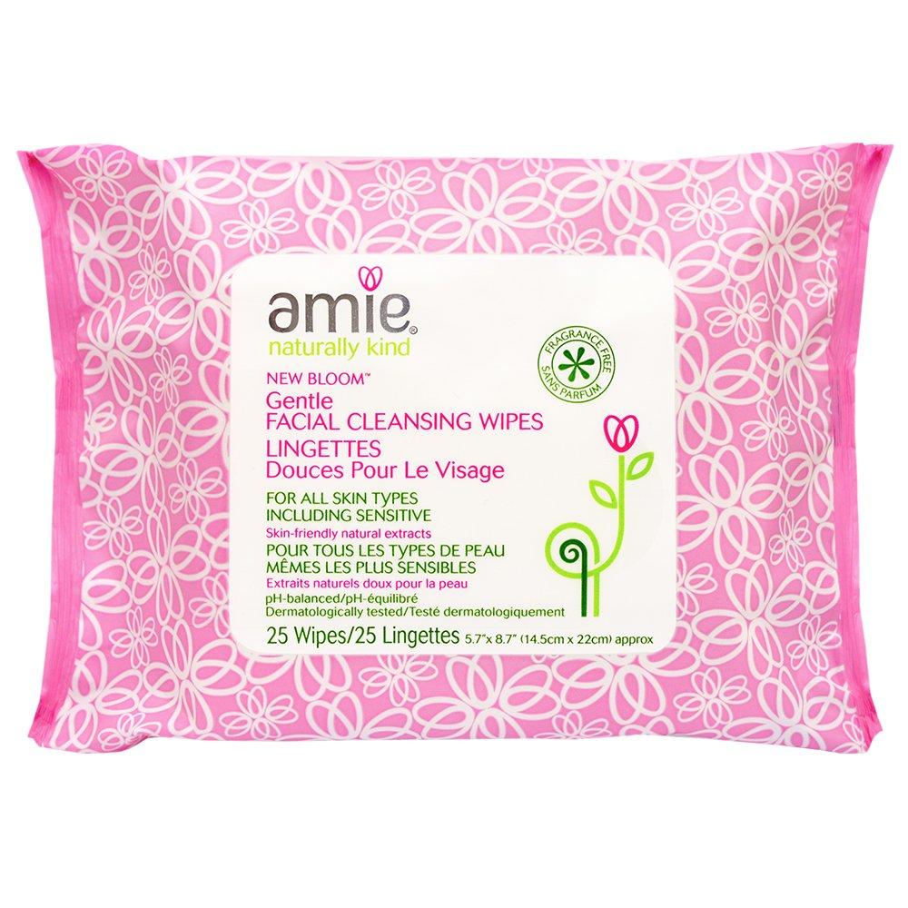 Amie Nuove Bloom Salviette detergenti - Confezione da 25 AM2500C