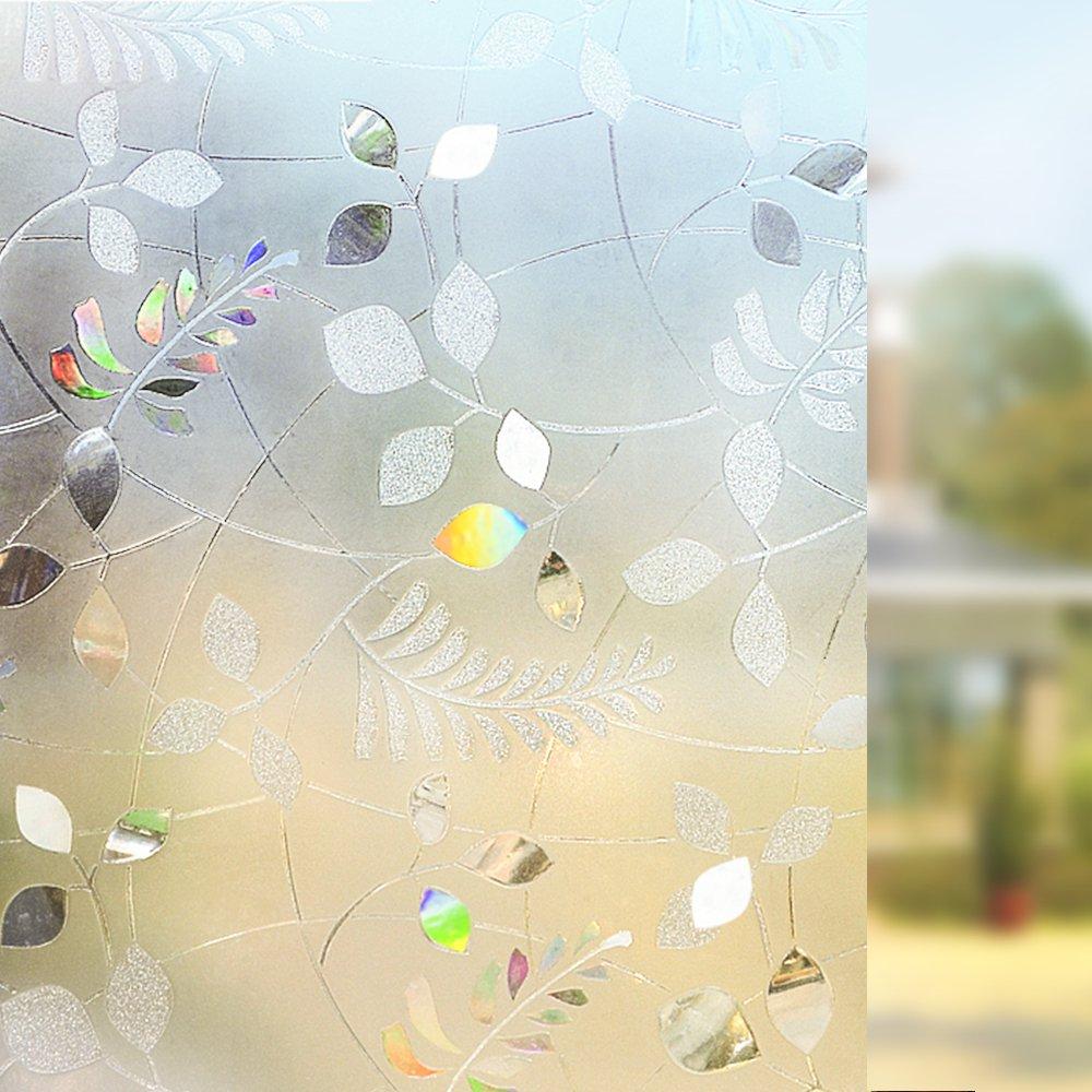 Amazon Rabbitgoo Anti UV 3D statisch haftend Fensterfolie