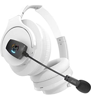 c917695ff24 Antlion Audio ModMic Wireless Attachable Boom Microphone for Headphones -  Compatible with PC, Mac,