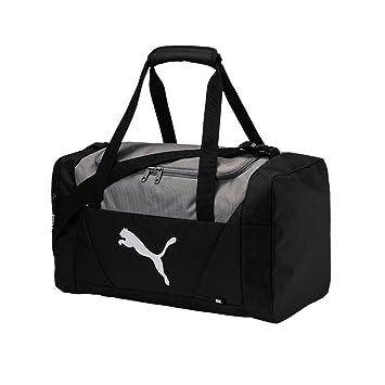 bd12a84351 PUMA 75096 01 Sac de Sport Mixte Adulte, Black, Taille S: Amazon.fr ...