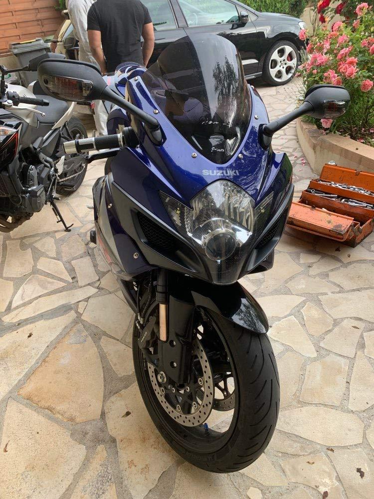 R/étroviseurs lat/éraux /él/égants pour Moto Su-zuki GSXR 600 750 1000 avec Clignotant