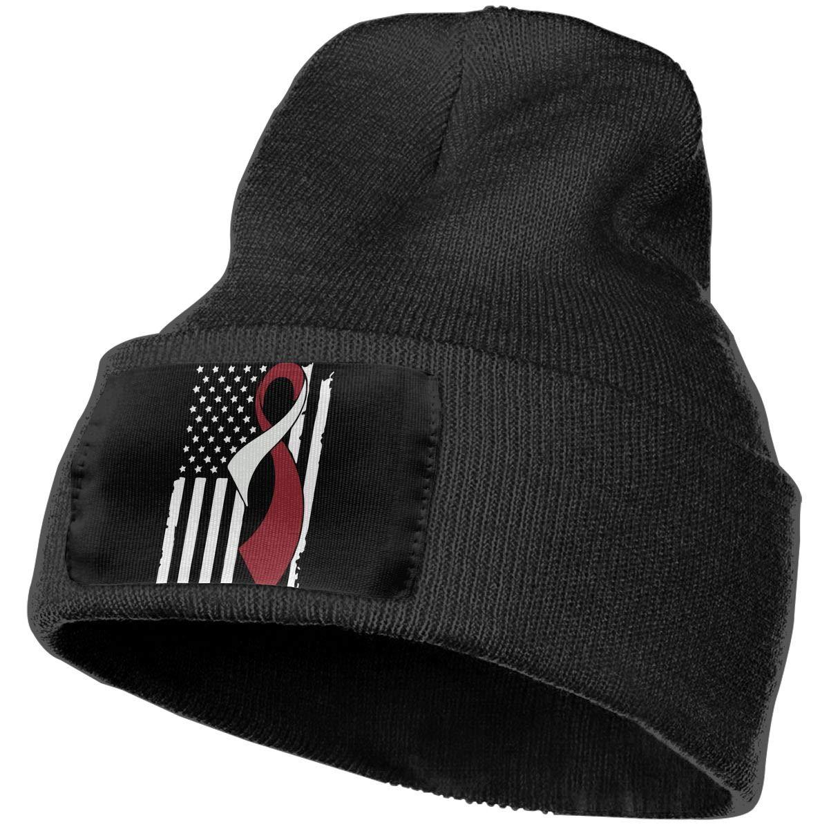 Head Neck Cancer Awareness Flag Men Women Knit Hats Stretchy /& Soft Ski Cap Beanie