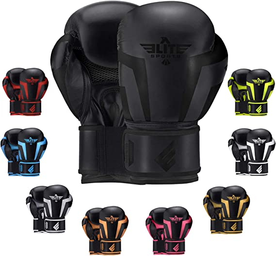 Starpro C20 Single Shell Boxing Gloves for Training and Sparring in Muay Thai Kickboxing Fitness and Boxercise Men /& Women Black /& White 8oz 10oz 12oz 14oz 16oz PU Leather
