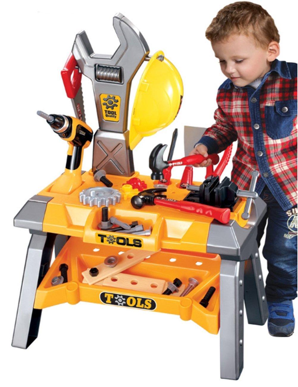 Superior Tools Play Set 折りたたみ工具、大工セット、ツールボックス、ロールプレイ(海外直送品)   B06XTK9Q8G