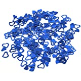 Lalang Heart Shape Confetti Wedding Party Decoration (blue)