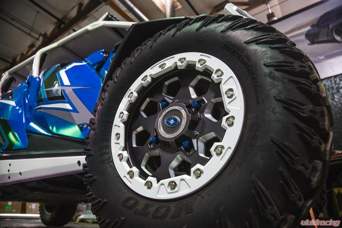 Universal 12x1.50 Closed End Wheel Lug Nuts Blue by Agency Power AP-UNI-400 by Agency Power (Image #3)