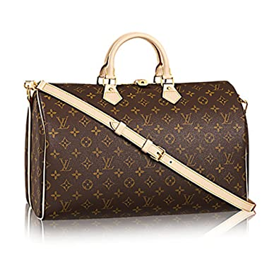 7f49213d7119 Louis Vuitton Monogram Canvas Crosss Body Leather Handles Handbag Speedy  Bandouliere 40 Article  M41110  Handbags  Amazon.com