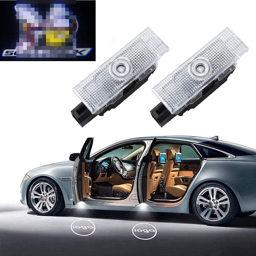 CHANONE Car Door LED Lighting Entry Ghost Shadow Projector Welcome Lamp Logo Light for Cadillac Series 2 Pack