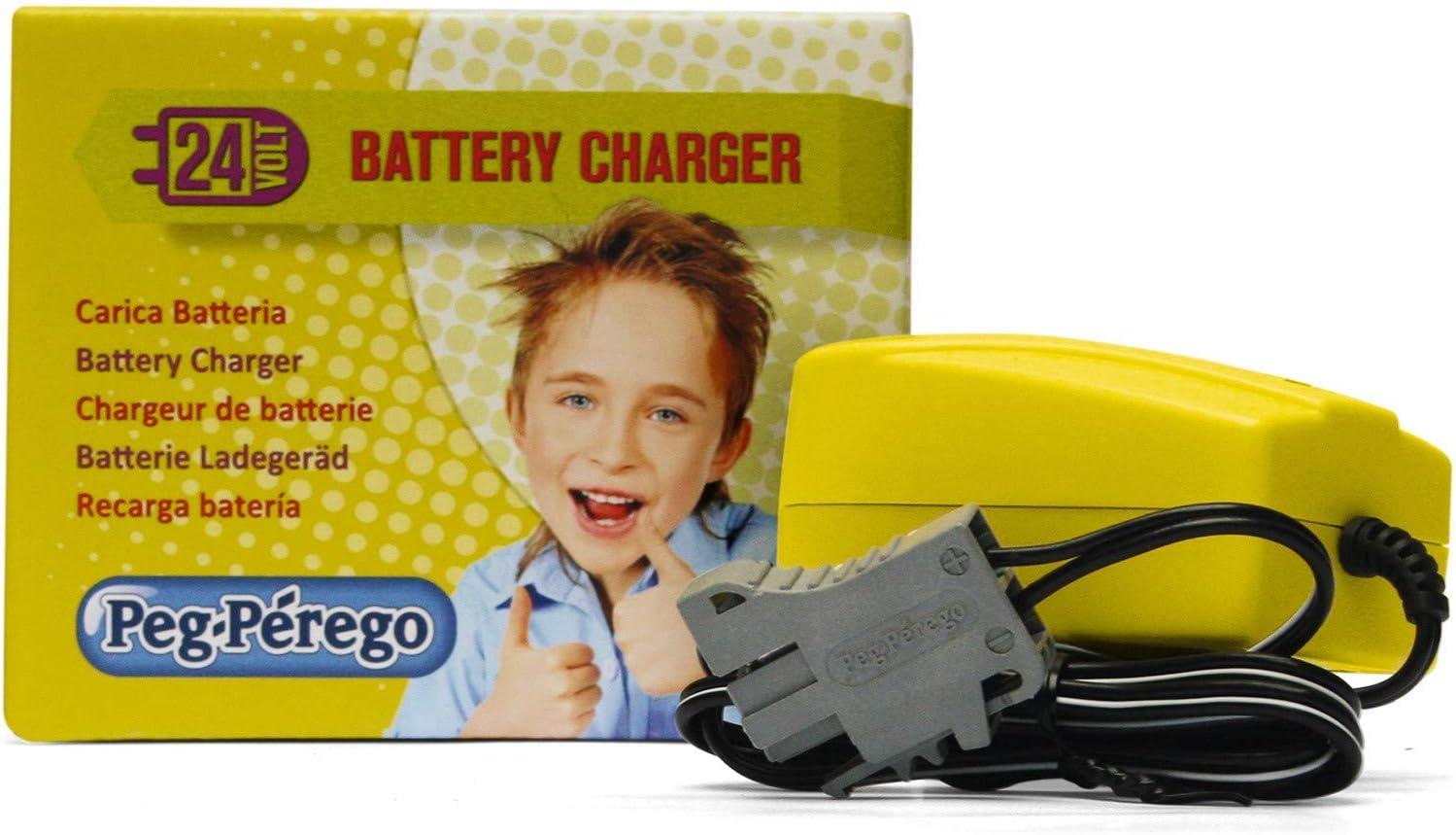 Peg Perego Kit Chargeur, 24 V, 1 A: : Jeux et Jouets