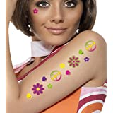 Temporary CND Tattoos Fancy Dress Accessories Costume