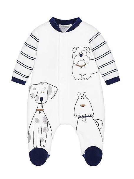 Mayoral 18-02734-047 - Pijama para bebé Niño 1-2 Meses