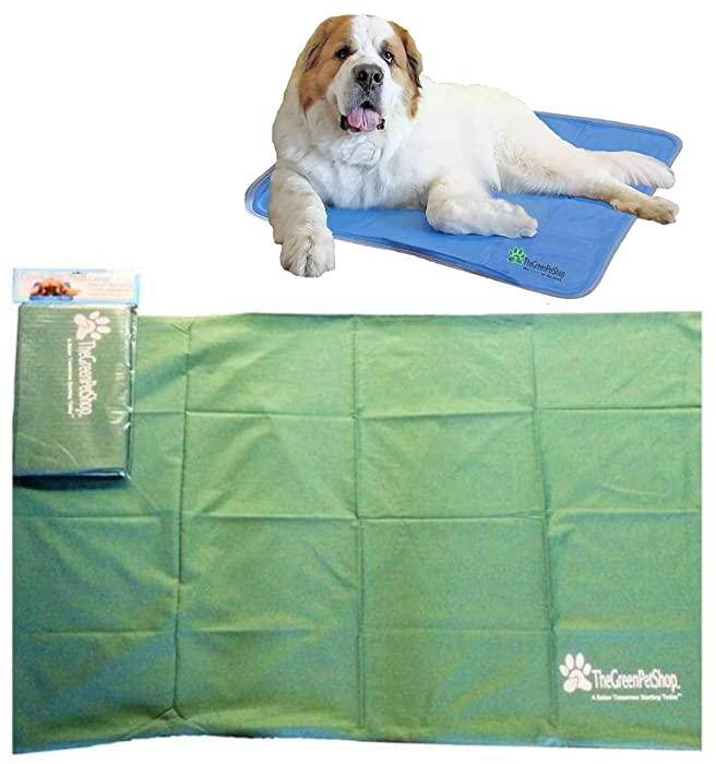 Protective Cover for The Green Pet Shop Cooling Pet Mat/Pad - Helps to Protect Cooling Pad From Damage - Durable, Easy-Care and Machine Washable - Various Sizes Available