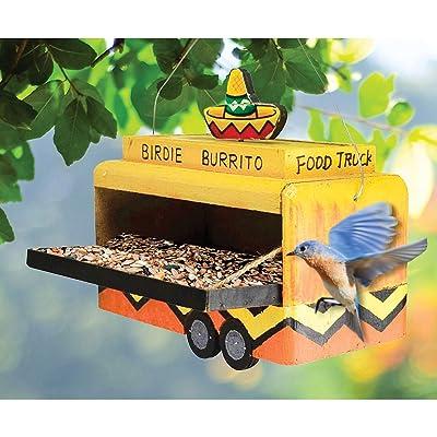 Songbird Essentials Birdie Burrito Food Truck Feeder : Garden & Outdoor