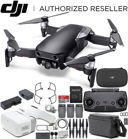 DJI Mavic Air Drone Quadcopter volar más Combo (Onyx negro) + DJI ...