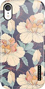 iPhone XR Case, Vintage Floral, Akna Sili-Tastic Series High Impact Silicon Cover with Full HD+ Graphics for iPhone XR (Graphic 101796-US)