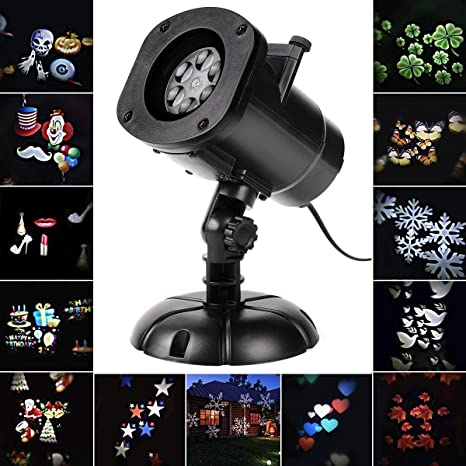 d981d7fc14d SALCAR - Navidad Lámpara de Proyector