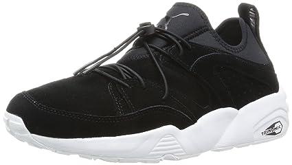 baskets pour pas cher 8bb36 70a53 Puma Blaze of Glory Soft Chaussures Mode Sneakers Unisex Cuir Suede Noir