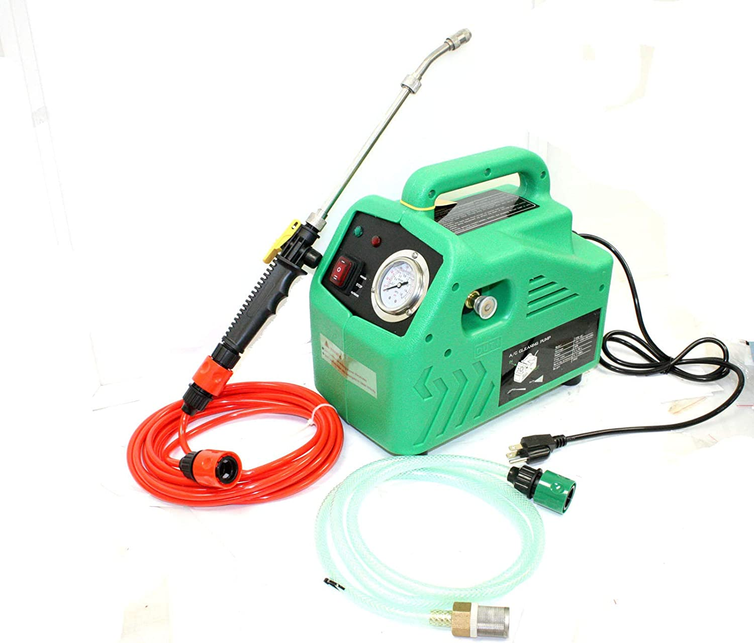 Air conditioner cleaning kit AC water pressure