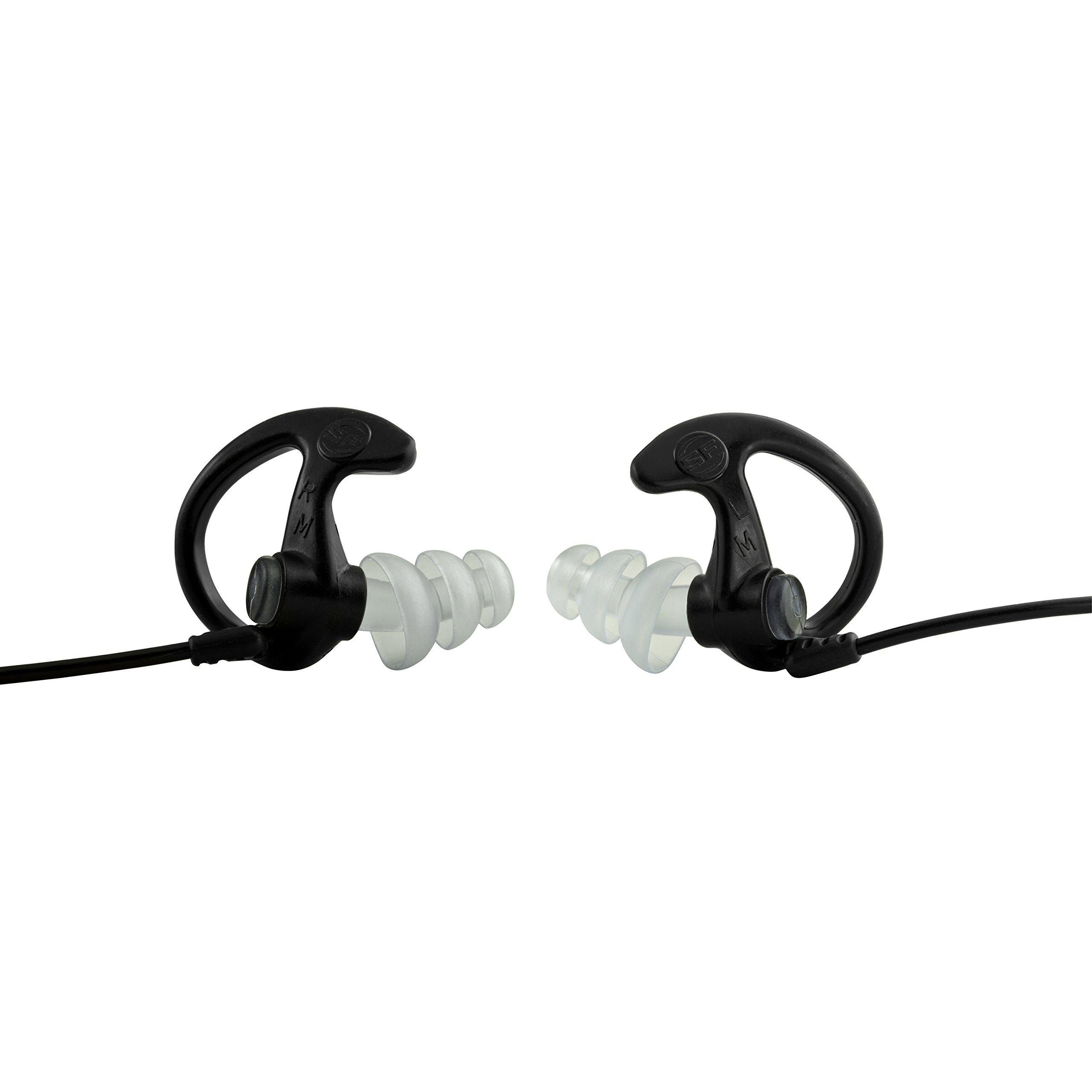 Ear Pro By Surefire Sonic Defender Ear Plugs (25-Pair) Black, Small
