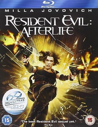 Resident Evil: Afterlife [Reino Unido] [Blu-ray]: Amazon.es: Milla ...