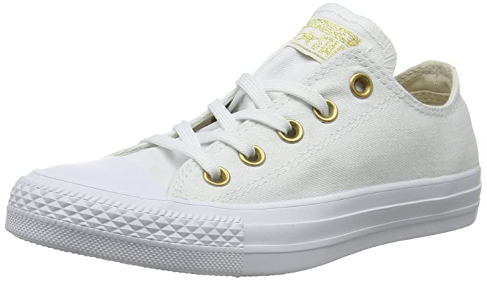 Converse Chuck Taylor (Chucks) All Star Sneaker Unisex Erwachsene Low Top Weiß