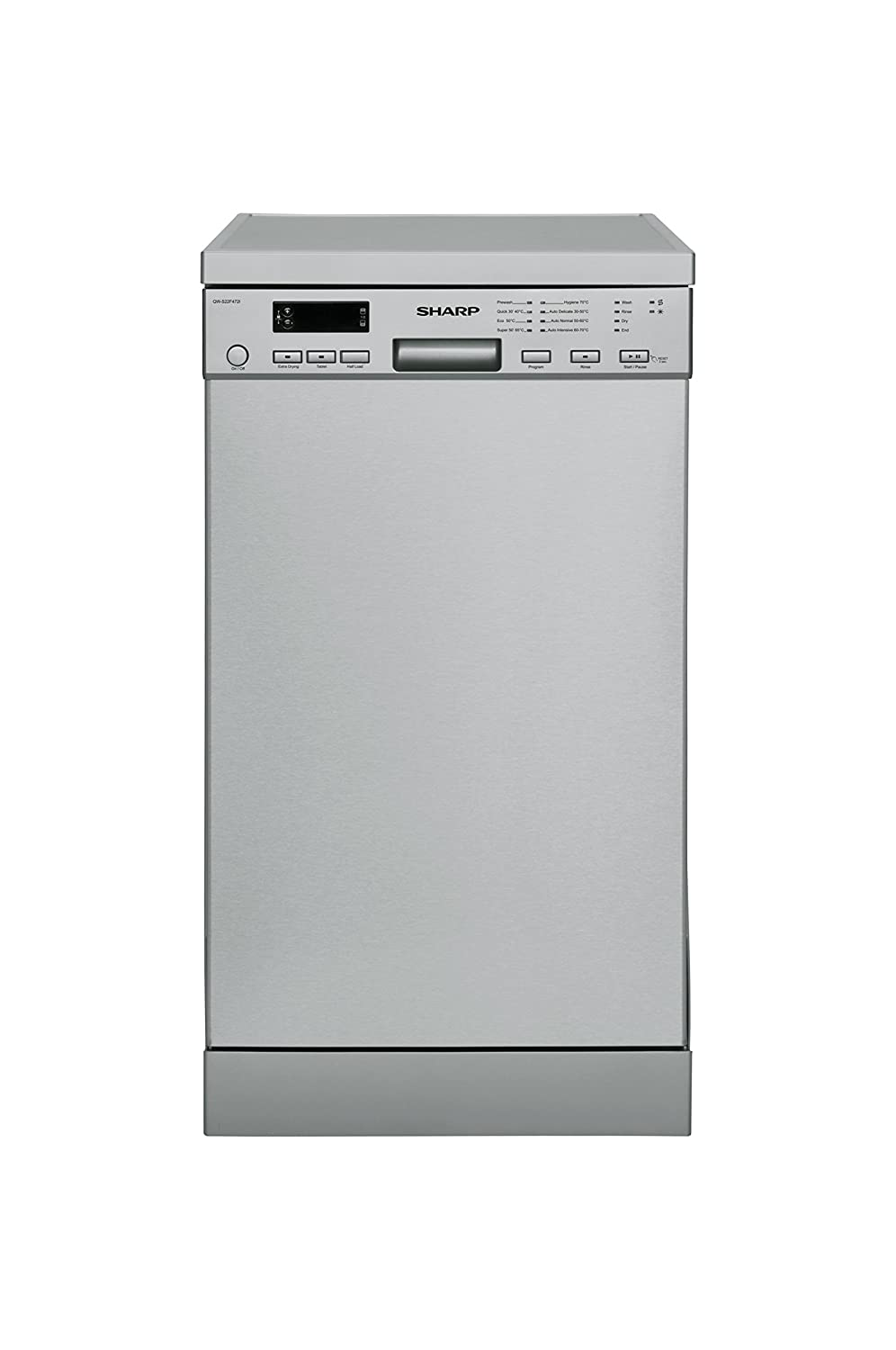 Sharp Home Appliances QW-S22F472I Independiente 10cubiertos A++ ...