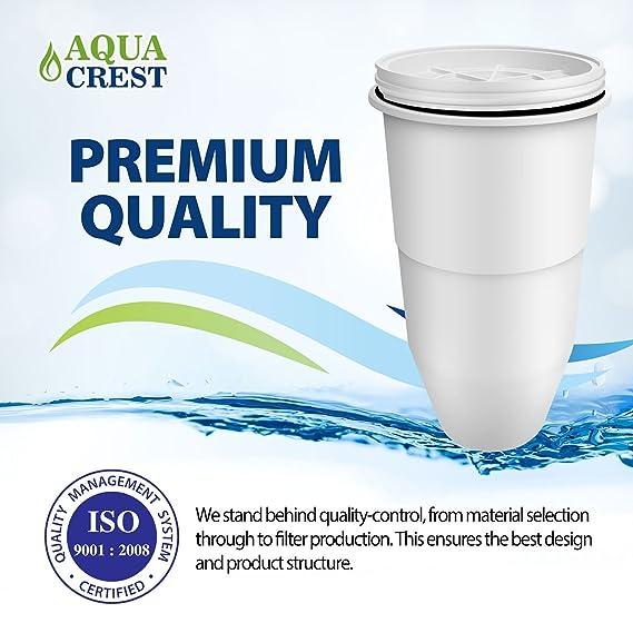 AquaCrest AQK-ZR-017 reemplazo del Filtro de Agua Compatible para jarras y dispensadores de filtración de Agua ZeroWater (2): Amazon.es: Hogar