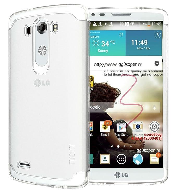 9 opinioni per Tudia, custodia bumper ultra sottile in TPU per smartphone LG G3 (2014)