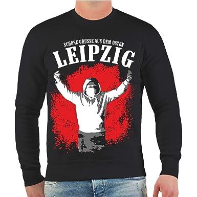 Männer und Herren Pullover Leipzig Schöne Grüße aus dem Osten Größe S -  10XL  Amazon.de  Bekleidung 0c96c8456f