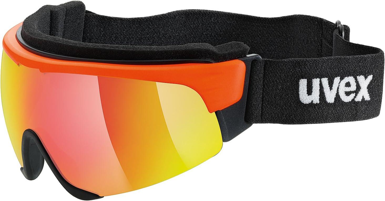 S1 orange// mirror red , S3 uvex cross shield II pro ; clear red mirror