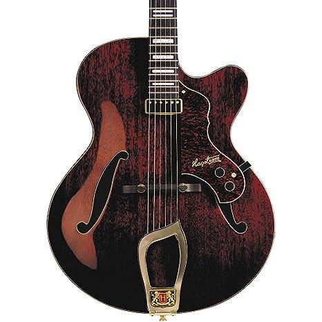 Hagstrom Jazz Modelo Hl-550 Guitarra eléctrica de cuerpo hueco ...