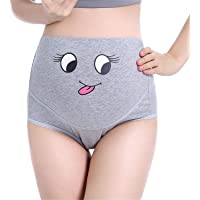 1209bb943e54 TRISTIN Maternity 3 Pack Soft Cotton Pregnancy Panties, Women High Waist  Underwear Knickers/Nursing