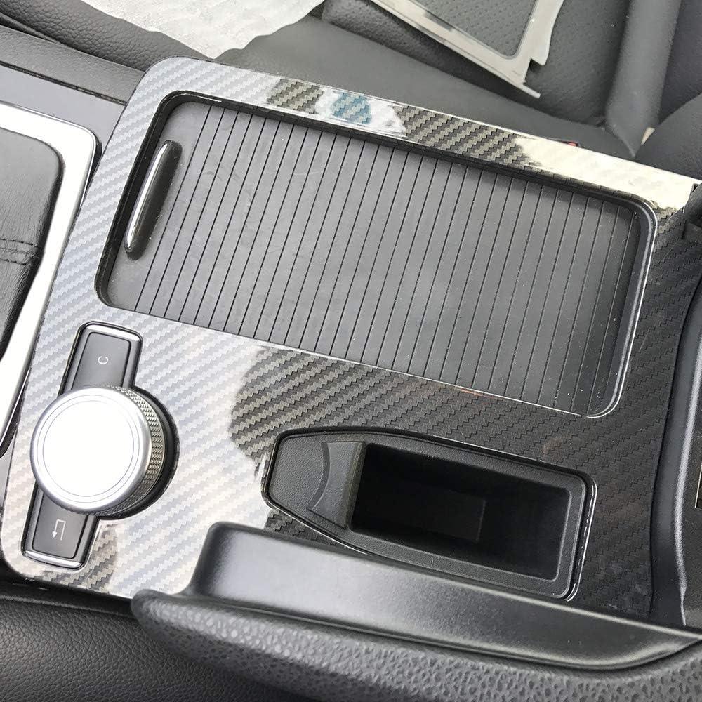 Tickas Coche Consola de fibra de carbono real Consola Wrap ...
