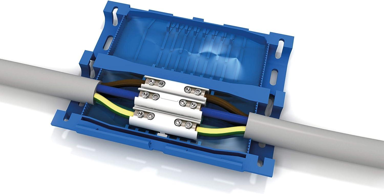 Etelec Junta Aislamiento Gel Conexi/ón L/ínea Cables Multipolares 5 Polos 0,6 1 Kv Terminal Incluido